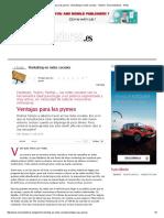 Ventajas para las pymes - Marketing en redes sociales - Gestión - Emprendedores - Webs.pdf