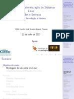 Aula01 - Intro. Adm. de Sistemas Linux Módulo 2