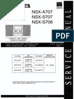 AIWA NSX-A707, NSX-S707, NSX-S708, CX-NS708LH.pdf