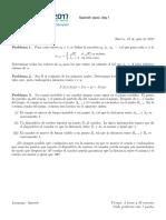 Evaluación IMO 2017 Español