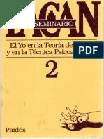 2 - Jacques Lacan - Seminario El Yo en La Teoría de Freud y en La Técnica Psicoanalítica