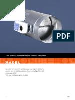 Clapet de Réglage Pour Conduit Circulaire SCC FR