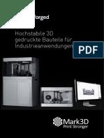Markforged-Broschuere Mark3D 2016 Web