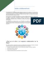 Redes Colavorativas y Foros Virtuales
