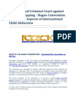 InternationalCriminal Court Against Child Kidnapping