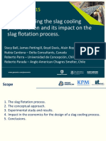 Procemin 2015 Understanding the slag cooling phenomenon and its impact on the slag flotation process.