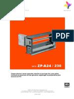Clapet Motorisé ZP-A [FR]