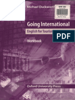 Going International, English for Tourism, Workbook