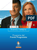 Programa Del Frente Progresista 2007 2011