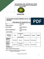 Situación Socioeconómica en El Distrito de Ingenio Provincia de Huancayo 2017 i Final