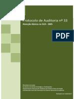4_2017_33_Prot Nº 33 Auditoria Em Atenção Básica No SUS - Revisado Em 21-03-17