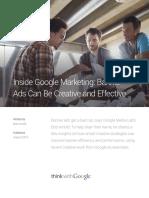 Inside Google Marketing Creative Effective Banner Ads