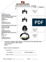 SHEPPARD FORM - Puller & Test Kit Order Form Effective 1 1 2012[1]