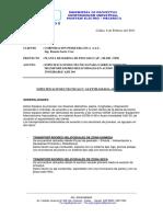 Especificaciones Tecnicas Para Fabricacion de Th. en Inox Aisi 304