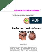 Facultad de Medicina y Ciencias de La Salud Trantornos Neurologicos