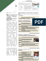 """Al Diario """"El País"""" Se Le Sale El Golpismo -Por Patricia Rivas"""