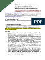 Funciones d Grupos de Trabajo Org. Eventos FIQT