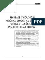 Realidade Étnica, Social, Histórica, Geográfica, Cultural, Política e Econômica Do Estado de Goiás e do Brasil