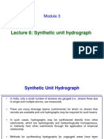 Lecture 6 _ Synthetic unit hydrograph.pdf