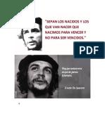 Pensamiento Guevara
