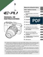 E-PL1 Manual de Instrucciones ES