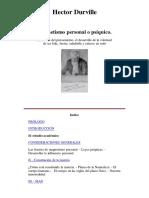 Hector Durville- Magnetismo Personal o Psíquico .Traducido