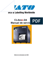 Manual Sato CL4e