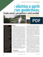 Energía Eléctrica a partir de recursos geotérmicos, estado actual y perspectiva.pdf