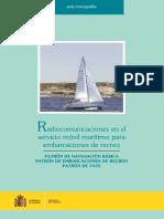 Radiocomunicaciones en el servicio móvil marítimo para embarcaciones de recreo