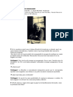 Entrevistar Heidegger