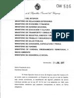 Proyecto de Ley Sobre Cincuentones