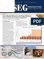 SEG Newsletter 105 2016 April