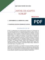 Análisis Literario Según Lázaro Carreter de La Obra