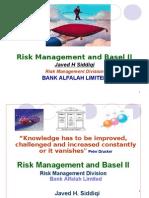RiskManagementBaselII-JavedHussainSaddique