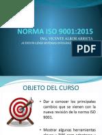 NORMA ISO 9001-2015 Vicente Albor Arrieta