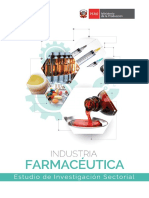Estudio Sectorial-Industria Farmacéutica