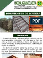 4.0 Durmientes de Madera