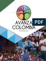 Brochure Avanza Colombia 2017