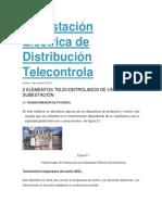 Elementos Que Integran Una Subestación Eléctrica de Distribución