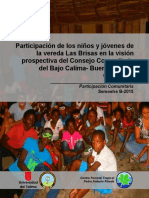 Participación de los niños y jóvenes en la vereda Las Brisas en la visión prospectiva del Consejo Comunitario del Bajo Calima (Buenaventura, Colombia).