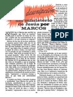 La Vívida Descripción Del Ministerio de Jesús Por Marcos