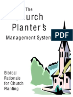 Biblical Rationale 4 Churchplanting