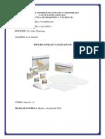 papel filtro