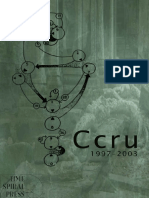 CCRU - Writings 1997-2003