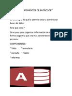 Componentes de Microsoft 2
