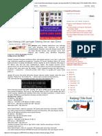Cara Setting LAN Jaringan Setting Server Dan Client _ Berita Dan Belajar Komputer Dan InternetCARA TUTORIAL eBook TIPS KOMPUTER _ TRIK KOMPUTER _ Linux Windows Xp Dan Windows 7 _ Download Program Software Komputer