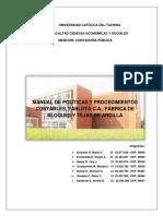 Manual de Politicas Contables Fablota