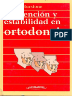 Contencion y Estabilidad en Ortodoncia