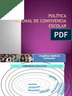 Política Nacional de Convivencia Escolar