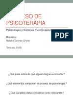 06. Proceso de Psicoterapia